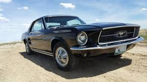 Black 67 Mustang Coupe 1967 Classic Ford Mustang Coupe Black No Reserve For Sale