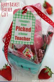 Teacher Gift Basket 20 Gift Basket Ideas Free Printable Tags Berry Baskets And