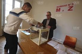ouverture des bureaux de vote edition belfort héricourt montbéliard dans les bureaux de vote