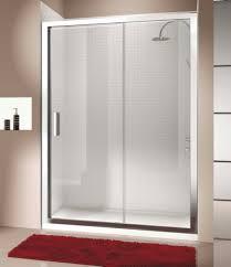 Red Bath Rug Sliding Door Model For Exclusive Shower Time Designoursign