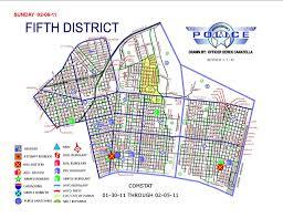Crime Mapping Com Nopd 5th District Crime Map Feb 6 2011 Nola Com