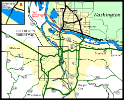 map of oregon freeways water treatment service and repair aquadyne portland or