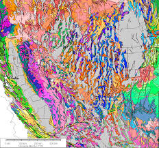 Detailed Map Of Mexico by Gravity And Magnetic Maps Of Nevada
