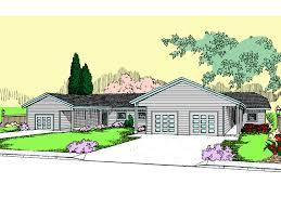 Rental House Plans Landsberg Triplex Multi Family Plan 085d 0843 House Plans And More