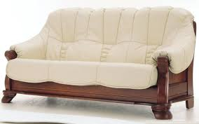 Leather Sofa And Chair Sets Wondrous Wood And Leather Sofa Photos U2013 Gradfly Co