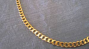 silver gold chain necklace images Sterling silver curb link 24k gold plated chain jpg