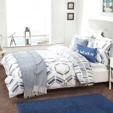 full size of oakley blue coastal geometric easy care reversible duvet set grey geometric duvet cover