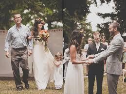 wedding dresses portland bohemian portland park wedding ruffled