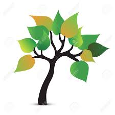 tree symbol tree abstract symbol vector icon royalty free cliparts vectors