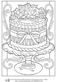 free printable coloring pages wedding cake coloring