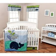 blue baby crib bedding from buy buy baby
