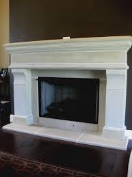 white fireplace surround binhminh decoration