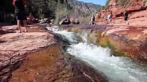 a visit to slide rock park near sedona arizona youtube