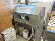 Used Blast Cabinet Used Blast Cabinet For Sale Wheelabrator Equipment U0026 More Machinio