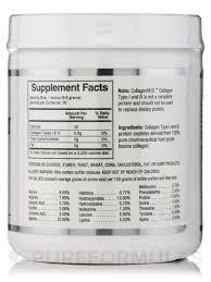 D Collagen i iii powder 7 oz