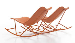 Rocking Chair Patio Furniture by Outdoor Rocking Chair From Sintesi Thinking Machine