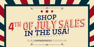 shop till you drop with 4th of july sales in the us shopandbox