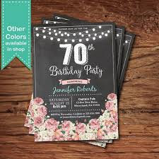 25 unique 70th birthday invitations ideas on pinterest 70