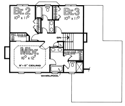 colonial style homes floor plans colonial style house plan 3 beds 2 50 baths 1700 sq ft plan 20 497