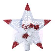 online shop 2017 christmas tree star pendant decoration snowflake