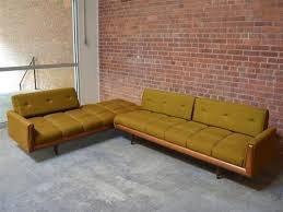 mid century modern sofa with chaise adrian pearsall danish mid century modern sectional sofa craft in