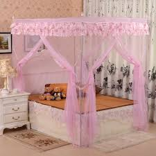 Pink Canopy Bed Contemporary Pink Canopy Bed Curtains Affordable Modern Home
