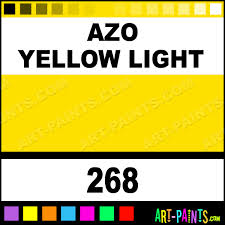 azo yellow light oil colors oil paints 268 azo yellow light