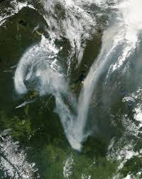 Alberta Wildfire Satellite Images by July 2012 Earth Matters Blogs