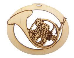 personalized euphonium ornament musician