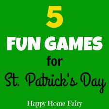 five fun games for st patrick u0027s day happy home fairy
