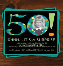 50th birthday invitations 50th birthday