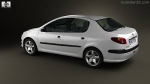 peugeot sedan 360 view of peugeot 206 sedan 2010 3d model hum3d store