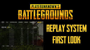 pubg 3d replay pubg replay system first look youtube