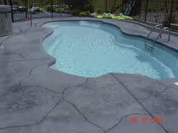 spectacular cool crete pool decks with stainless steel pool