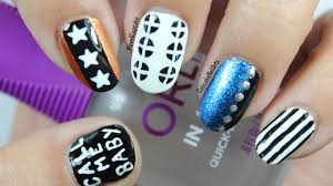 Baby Nail Art Design Exo Call Me Baby Inspired Nails Kpop Nail Art Youtube