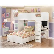 Loft Bunk Beds B160 68t Furniture Madeline Bedroom Loft Bunk Bed Top