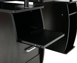 Office Desk Games by Foxhunter Computer Desk Pc Table With Shelves Drawers Home Office