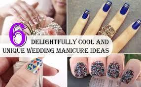 6 delightfully cool and unique wedding manicure ideas style presso