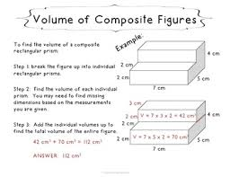 volume of composite rectangular figures task cards 5th tpt