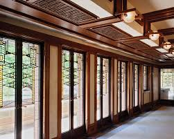 Frank Lloyd Wright Home Interiors Frederick C Robie House Sites Open House Chicago