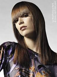 difference between tapered and straight haircut long hairstyle with finely tapered sides and bangs cut in a