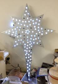surprising lighted christmas star decoration cute outdoor yard