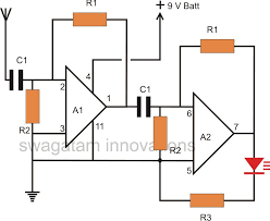 thunder lightning detector circuit electronic circuit projects