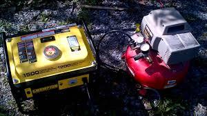 champion 1200 watt generator mp4 youtube