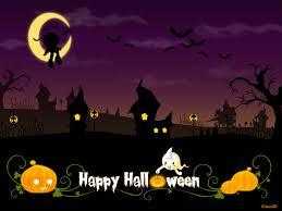 scary happy halloween desktop wallpaper