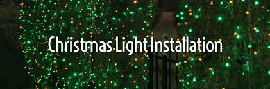 yukon ok christmas lights christmas light installation evergreen landscaping
