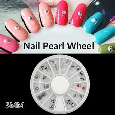 lips pearls nail art decorations promotion shop for promotional