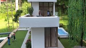 dollhouse miniature modern dollhouse in quarter scale youtube