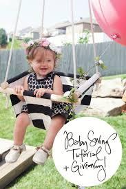 Pink Swinging Baby Chair 25 Best Baby Swings Ideas On Pinterest Burlap Baby Diy Gift