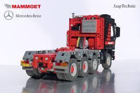 peugeot lego mercedes benz actros 4160 mammoet jaaptechnic